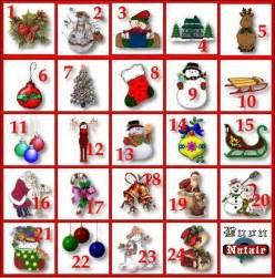 I Calendario Dell Avvento Calendario Caselline