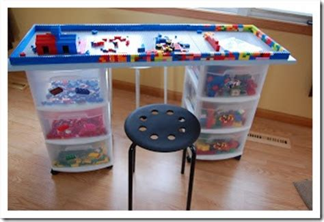 diy lego table with storage lego storage wars simple solutions for lego storage 4tunate