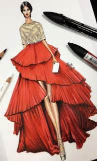 Design Sketch For The design sketches fashion sketches and fashion design illustrations