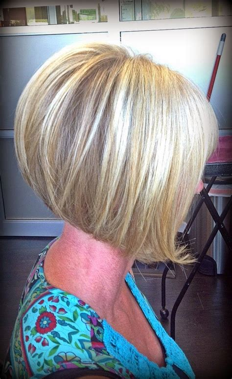 short stacked haircuts for fine hair that show front and back stacked bob haircuts 2015 with bangs zpgui62wm hair