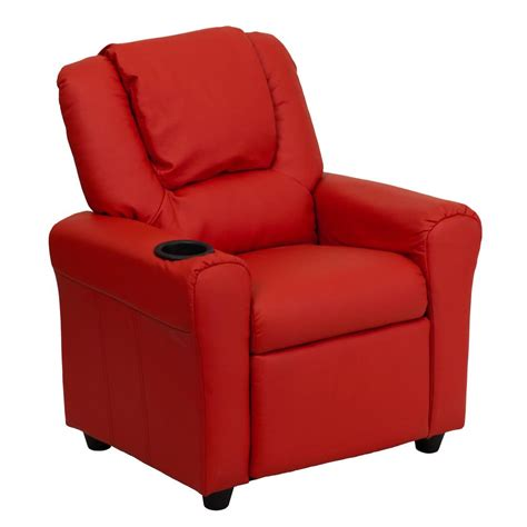 flash furniture kids recliner flash furniture contemporary red vinyl kids recliner with
