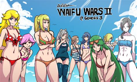 Waifu Wars Ii Electric Boogaloo By Akairiot On Deviantart
