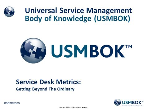 Service Desk Metrics by Service Desk Metrics Getting Beyond The Ordinary