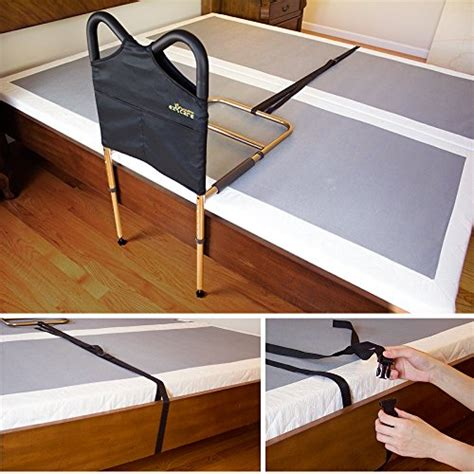ez2care bed safety handles rails adjustable safety bedside ebay