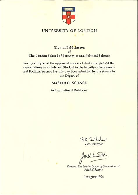 Uol Mba by Diploma Lse