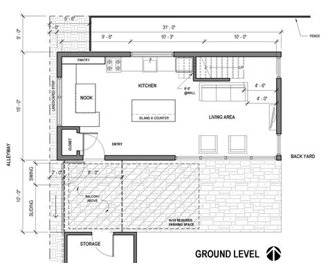 adu floor plans alleyway adu polyphon architecture design llc a