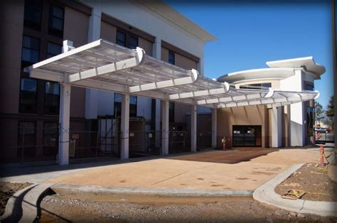 Architectural Awnings by Hton Inn Drop Canopy By In Raleigh Nc Proview