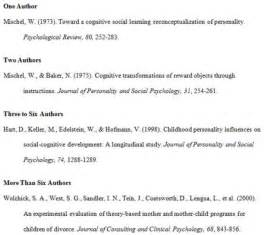 apa format guidelines and examples of apa format