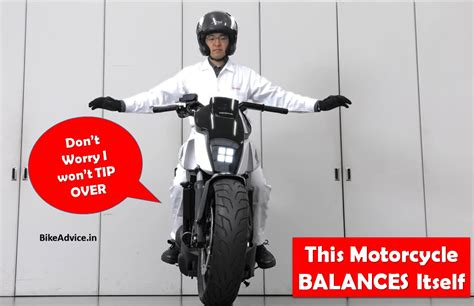 Honda Riding Assist Self Balancing Motorcycle Pic & Details