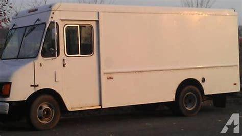 1995 chevy p30 stepvan food truck box step aluminum