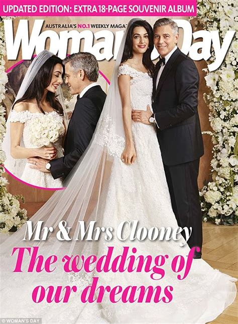 Every Single One Of Amal Alamuddin Wedding Right The Blocks Shannon Marries In A Garden Wedding