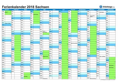 Kalender 2018 Sachsen Ferien In Sachsen Sn 2018 2019 Ferienkalender