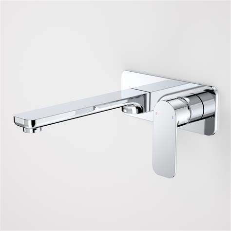 bathroom wall mixer caroma luna wall basin bath mixer photo tuck plumbing