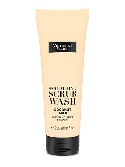 coconut milk smoothing scrub wash s secret