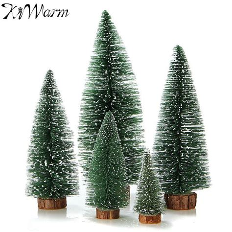 1pcs mini christmas tree small pine tree ornaments
