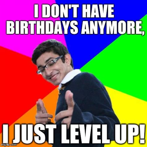 Nerd Birthday Meme - birthday gaming geek imgflip