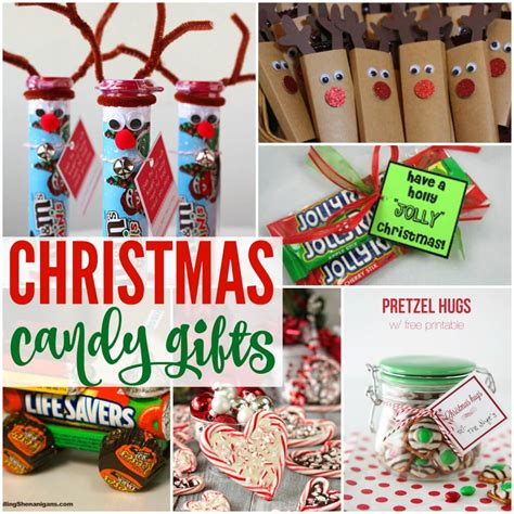 20 amazing gifts made from christmas candy
