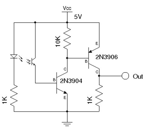 optical encoder circuit diagram kerry d wong 187 archive 187 simple optical encoder for