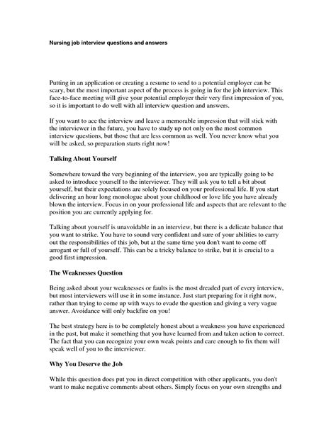 Answers To Questions For Nurses by Nursing Questions And Answers Sle Slebusinessresume Slebusinessresume