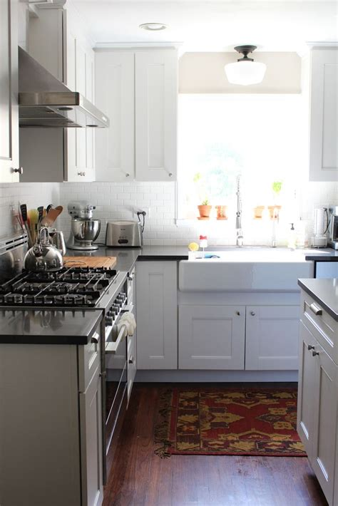 this gorgeous white kitchen includes martha stewart