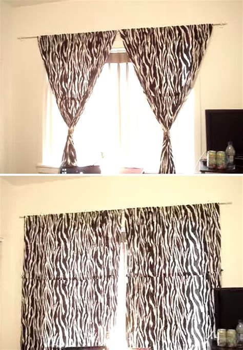how to hang things without holes how to hang curtains without holes in the wall
