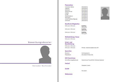 Lebenslauf Muster Referenzen Bewerbungsunterlagen Rav Ow Nw