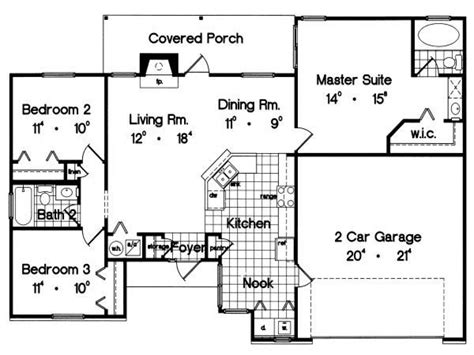 1300 Square Foot House Plans House Plans 2 Bedrooms 1300 Square Foot Cabin Plans