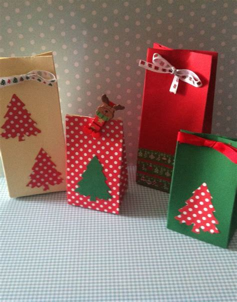 bolsas de dulces para navidad bolsitas para regalos ideas para navidad pinterest