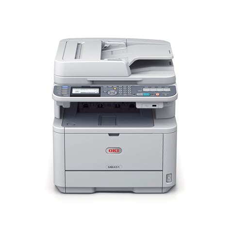 Printer Laserjet Oki oki mb451w laserjet printer aio monochrome printers