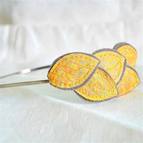 Leaves From Marimekko by Folding Chair Designs Marimekko Leaf Headband Wool