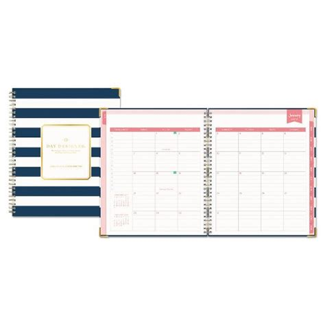 2017 2018 weekly planner academic planner weekly and monthly calendar schedule organizer authored by planners and calendar notebooks books 2017 2018 day designer academic planner weekly monthly