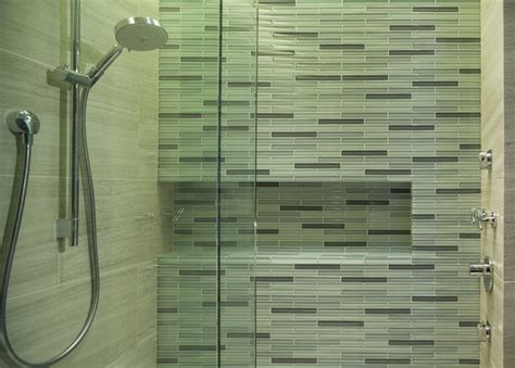 bathroom tile chicago glass mosaic tile contemporary bathroom chicago by