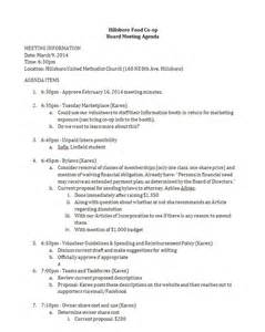 3 9 board meeting agenda hillsboro food co op