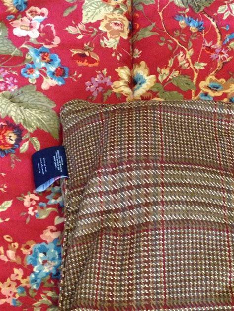 ralph lauren summerton ralph comforter summerton reversible floral houndstooth brown plaid ralph