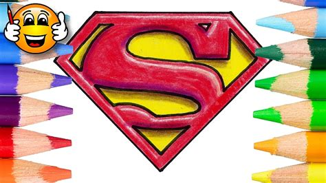 tutorial logo superman how to draw the superman logo in 3d draw with