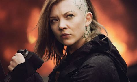 natalie dormer mockingjay released photos celebzz