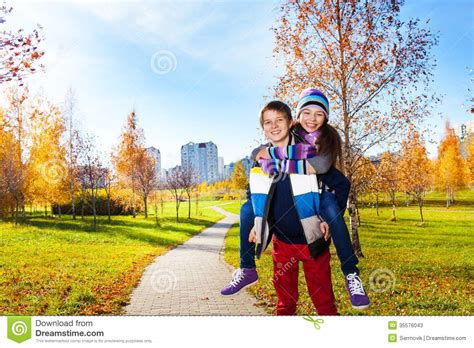 Autumn Boy 10 by Boy And Hugging Stock Image Image Of