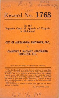 Alexandria Va Court Records Virginia Supreme Court Records Volume 167 Virginia Supreme Court Records