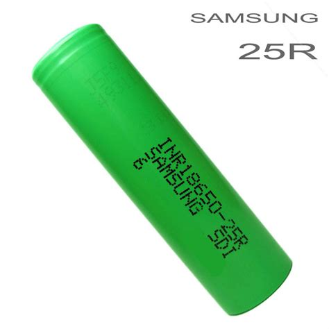 Samsung Inr 18650 25r Li Ion Battery 2500mah 3 7v With Flat Top Samsung Inr 18650 25r Li Ion Battery 2500mah 3 7v With Flat Top Green Jakartanotebook