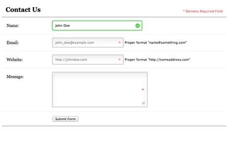 html pattern email validation bring your forms up to date with css3 and html5 validation