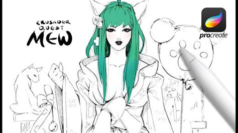 Sketches Vs Procreate by Pro And Apple Pencil Procreate Sketch Cq Mew