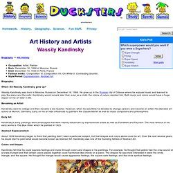 kandinsky biography for students art and design pearltrees