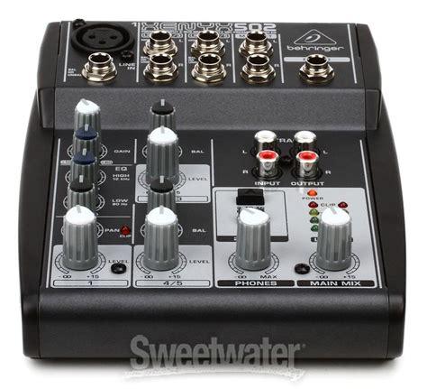 Mixer Xenyx 502 behringer xenyx 502 sweetwater