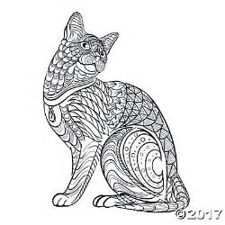 tribal coloring pages tribal cat coloring page free printable