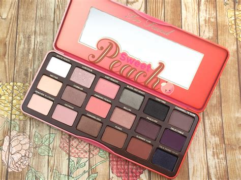 Eyeshadow Faced faced summer 2016 sweet eyeshadow palette
