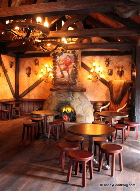main dining room full review gaston s tavern in new fantasyland the