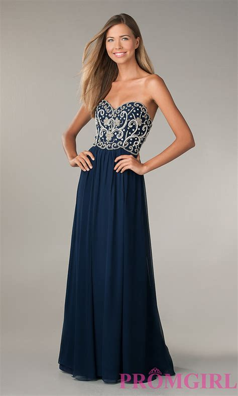 Strapless Beaded Prom Dresses Collection Promgirl