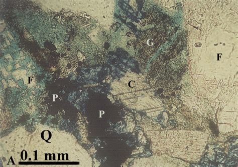 siderite in thin section figures 28 36 3 d reservoir characterization