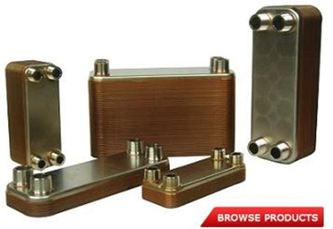 air exchanger for radiant floor heat brazed heat exchangers for radiant floor heating
