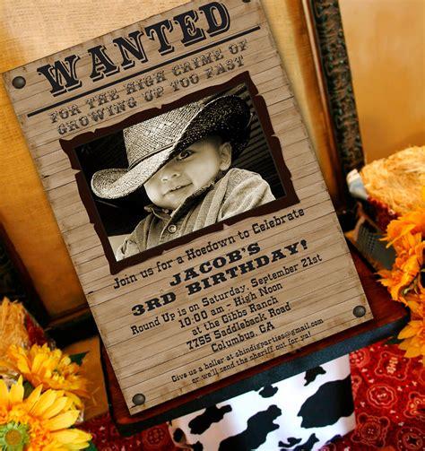 free printable cowboy party decorations cowboy party invitation cowboy western by amandaspartiestogo